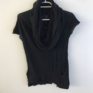 EUC - All Saints Cowl Neck Top (UK 12/US 10) S Fit